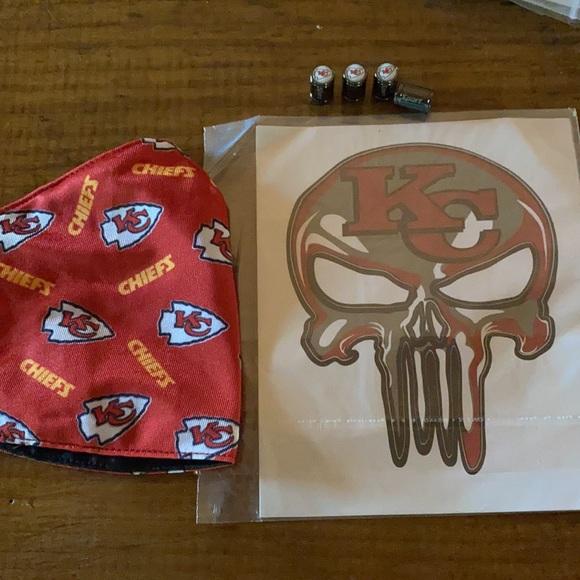 🏈 NFL Kansas City Chiefs  window sticker lot